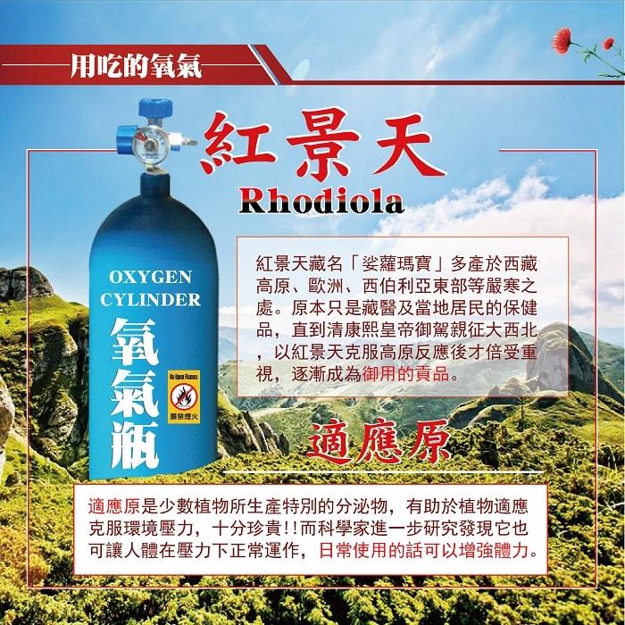 【美陸生技AWBIO】紅景天藏名娑蘿瑪寶多產於西藏高原、歐洲、西伯利亞東部等嚴寒之處。原本只是藏醫及當地居民的保健品,直到清康熙皇帝御駕親征大西北,以紅景天克服高原反應後才倍受重視,逐漸成為御用的供品。適應元是少數植物所生產特別的分泌物,有助於植物適用克服環境壓力,十分珍貴!!而科學家進一步研究發現它也可讓人體在壓力下正常運作,日常使用的話可以增強體力。